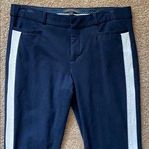 Banana Republic Sloan ankle pant w jogger stripe